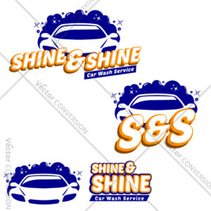 Car wash logo vector design